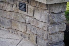 Custom Walls, Fire Pit & Patio